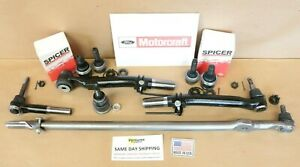 Ford F250 F350 05-15 Front Axle Tie Rod Drag Link Ball Joint Rebuild Kit OEM
