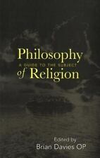 Philosophy of Religion: A Guide to the Subject by Paperback Book (English)