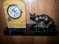 German Mantel clock with a fox