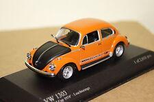 VW Käfer 1303 World Cup 1974 orange 1:43 Minichamps  neu & OVP 430055114