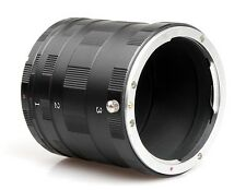 Macro Lens Extension Tube Adapter Ring For Nikon F D3400 D750 D7200 D810 D5500