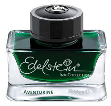 PELIKAN EDELSTEIN AVENTURINE GREEN PREMIUM BOTTLED INK NEW IN BOX 339366