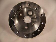 Polished Billet Grant 3 hole to Nardi 6 hole Steering Wheel hub adaptor