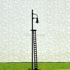 5 pcs HO or OO scale Yard Light Model Lamppost street Light layout Lamp #R42-11