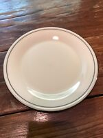 "Lenox Special White Salad Plate Platinum Trim 6.5"" Salad Dinner Roll Dessert"