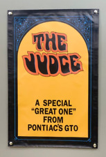 The Judge a Special Great One from Pontiac's GTO 24''x36'' Garage Shop Banner