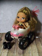 Bratz Babyz - Yasmin Doll w/Boots & Monster Truck Hot Rod Car - Nice!