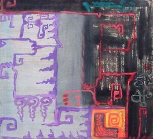 Abstract  Painting gouache orig Nguyen Anh Tuan   &  Painters ...
