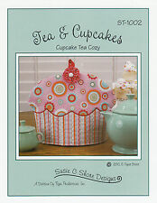 Tea & Cupcakes Cupcakes, Tea Cozy Pattern, DIY Sewing, Cozies Susie Shore Design
