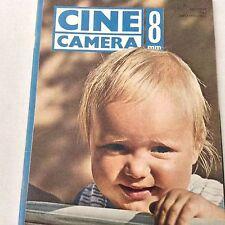 Cine Camera 8mm Magazine Non-Sync Dialogue October 1963 061517nonrh
