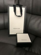 Gucci Empty Gift Box, Paper Gift Bag & Ribbon