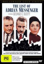 The List of Adrian Messenger DVD George C Scott Tony Curtis 1963 Gold Series