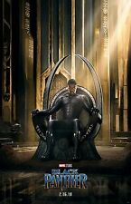 Black Panther movie poster - Chadwick Boseman poster - 11 x 17 inches