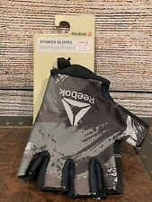 Reebok Fitness Training Glove Weight Lifting Fingerless Gym size S NWT