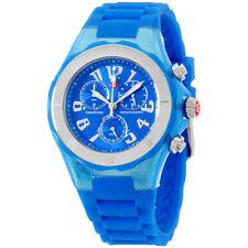 Michele Tahitian Jelly Beans Quartz Movement Blue Dial Ladies Watch MWW12F000074