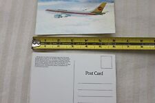 CONTINENTAL-AIRLINES-AIRBUS-A300-Aircraft-SOUVENIR-POSTCARD-BRAND-NEW-COLLECTION