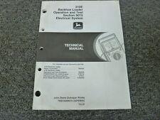 John Deere 310E Backhoe Loader Electrical System Service Repair Manual TM1648