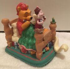 Disney Winnie The Pooh & Piglet Sleep Over,  Hand Painted  Animated Figurine