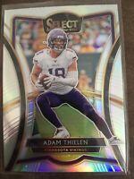 Adam Thielen 2019 Select Premier Level Silver Prizm Minnesota Vikings