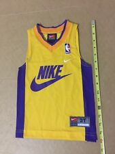 Toddler Nike Swoosh basketball jersey lakers colors nba vtg 3T baby kid youth