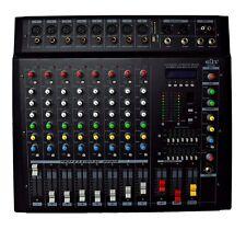 8 KANAL POWERMIXER 1600 watt b-ware POWERMISCHER LIVEMIXER PA ENDSTUFE