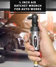 """LEMATEC 3/8"""" Air Ratchet Wrench Air Screwdriver Pneumatic Tool Repairing Tool"""