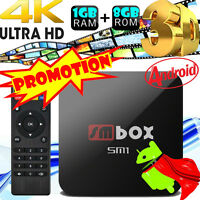 4K PRO S805 Smart TV BOX Android Quad Core 1G+8G WIFI HDMI 1080P Media Player