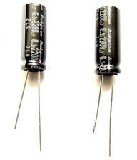 50pcs RUBYCON MS7 10V 47UF electrolytic Capacitor 85℃ 5X7mm