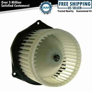 Heater Blower Motor w/ Cage for Olds Pontiac Buick Chevy
