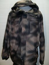 DC Shoes XL X-Large Exotek 5,000mm lightweight hoooded Snowboard/snow Jacket
