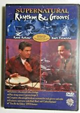 """""""Supernatural Rhythm & Grooves"""" Dvd -with Raul Rekow and Karl Perazzo"""