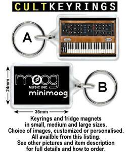 Moog keyring / fridge magnet - Minimoog, Prodigy, Opus