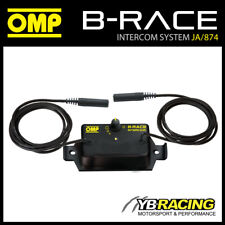 JA/874 OMP B-RACE INTERCOM IN CAR SOUND SYSTEM CONTROL BOX for RACE RALLY