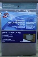 WJ Dennis & Company 21 Window Air Conditioner Cover, Fits 15,00 + BTU Models,...