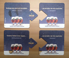 4 Palm Bierdeckel coaster sous-bock Бирдекели