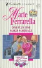 One Plus One Makes Marriage (Like Mother, Like Daughter/75th Book)