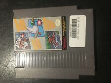 SUPER MARIO BROS DUCK HUNT TRACK MEET NES NINTENDO VIDEO GAME TESTED & WORKING