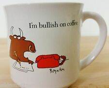 Sandra Boynton Mug I'm Bullish on Coffee Buy Low, Stay High Recycled Paper Produ