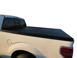 Black Horse Premier Soft Tonneau Cover 6.6ft Vinyl Trifold fit 09-14 Ford F-150