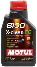 Motul 8100 X-CLEAN FE 5W30 1L Olio Motore 100% Sintetico Acea C2 C3 Fuel Eco