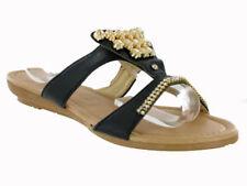 36 Sandali e scarpe multicolore con tacco basso (1,3-3,8 cm) per il mare da donna