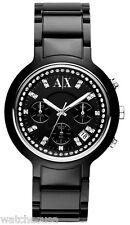 AX Armani Exchange Black Crystal Ladies Active Watch AX5141
