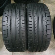 2x Summer Tyres Michelin Pilot Sport 2P PS2 225/40/18 R18 88Y Runflat
