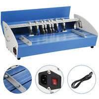"5in1 20.5"" Electric Paper Creasing Machine Creasers cutters"