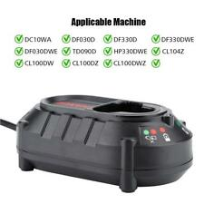 10.8/12V Li-ion Batterie Ladegerät für Makita DF030DWE / TD090D / HP330DWE
