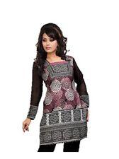 UK STOCK - Women Fashion Indian Short Kurti Tunic Kurta Top Shirt Dress 42C P