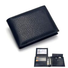 Men's Wallet PU Leather Purse Credit Cards Money Holder Smart Bag Gents Wallet