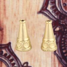 Q9-13 15 SILBERFOLIE GLASPERLEN 10 MM GOLD-BRAUN MATT