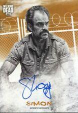 Walking Dead Hunters & Hunted Rust 99 Autograph Card Steven Ogg as Simon