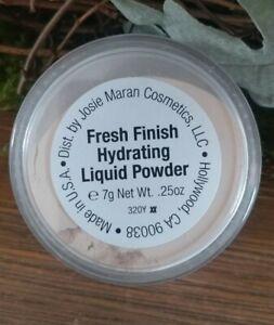 Josie Maran Fresh Finish Hydrating Liquid Powder Luminous Gold Full Size .25oz
